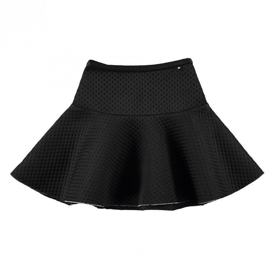 Molo Britani Skirt Black Bean Midihame