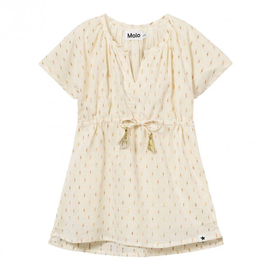 Molo Caly Dress Dot Gold Kylpytakki