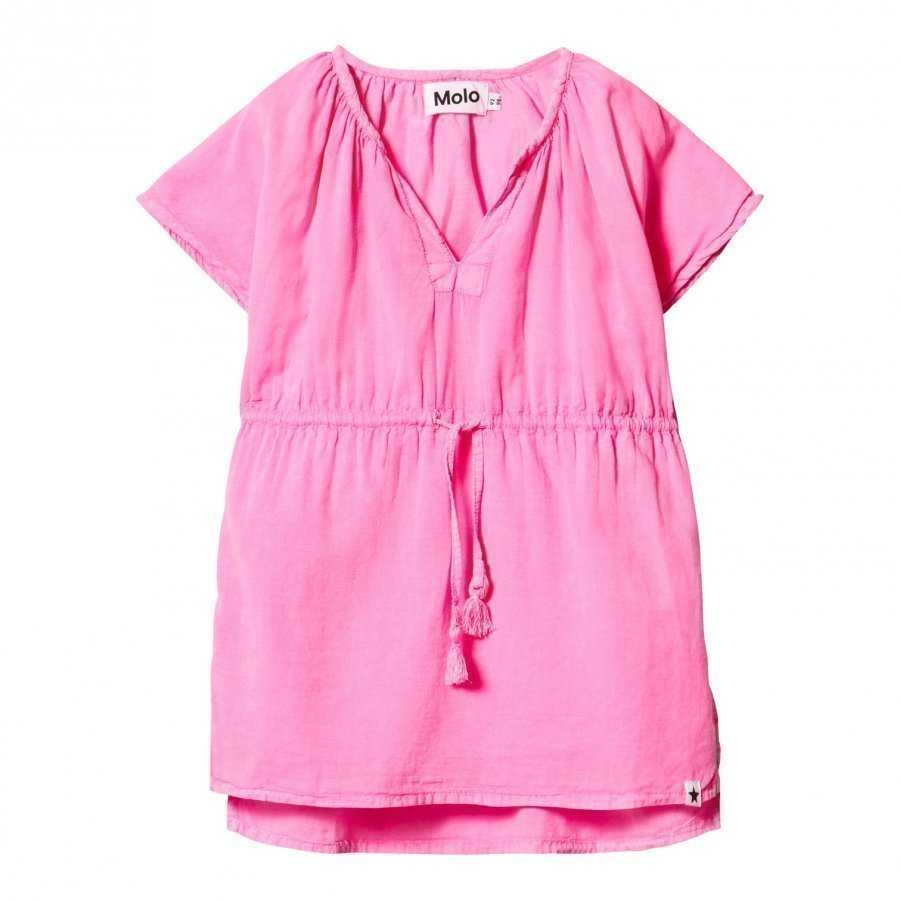 Molo Caly Dress Knockout Pink Kylpytakki