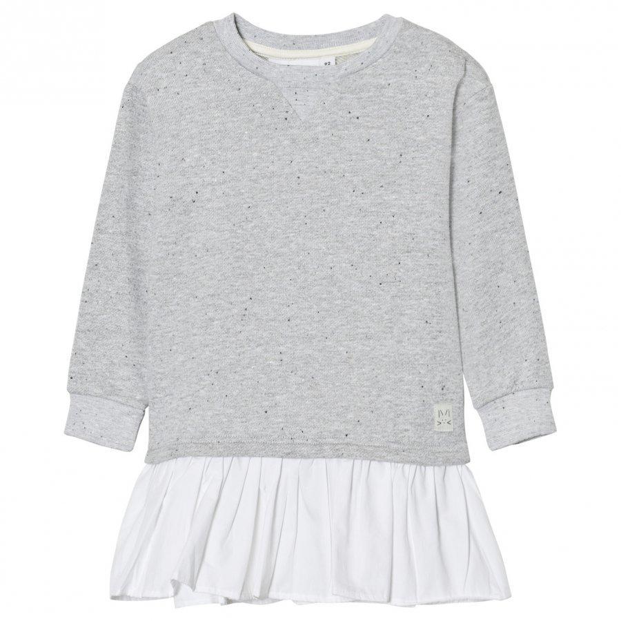 Molo Caprice Dress Grey Melange Mekko