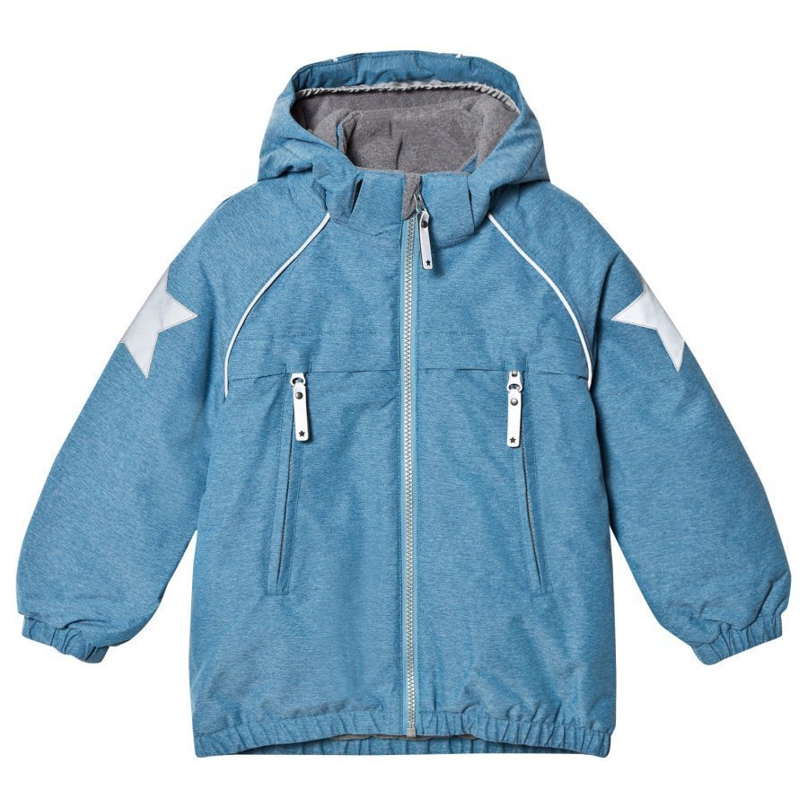Molo Castor Jacket Blue Mountain Toppatakki
