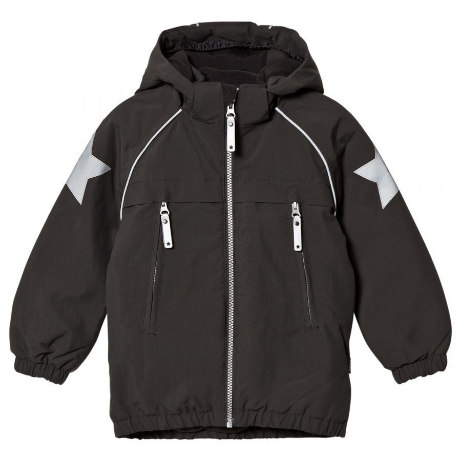 Molo Castor Jacket Pirate Black Toppatakki