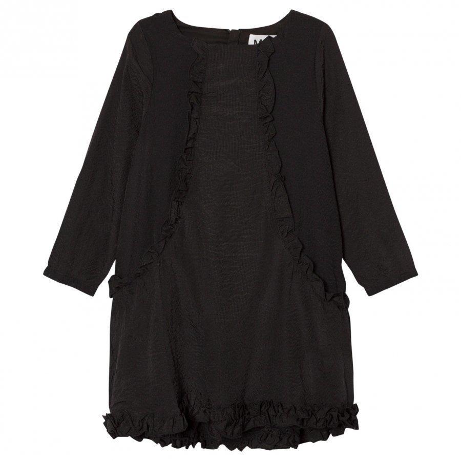 Molo Cathi Dress Black Bean Mekko