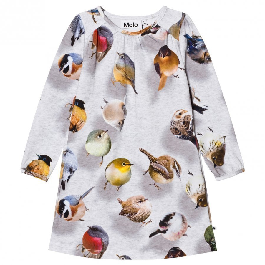 Molo Ceria Dress Bouncing Birds Mekko