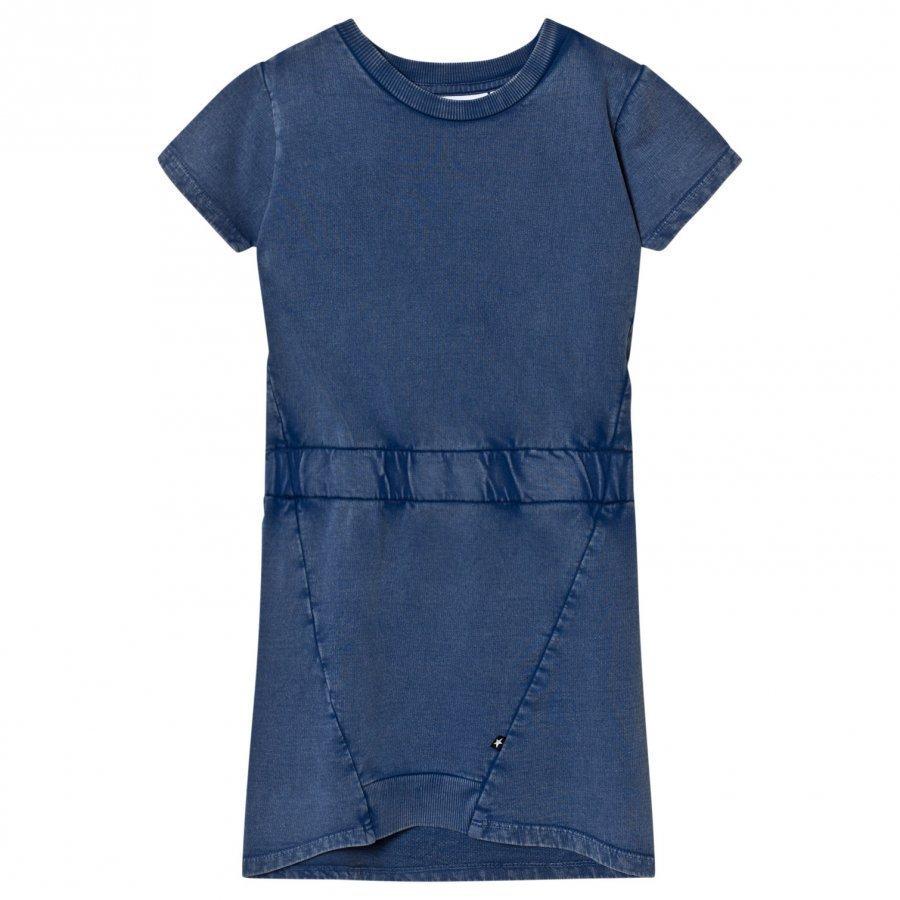 Molo Clare Dress Washed Indigo Mekko