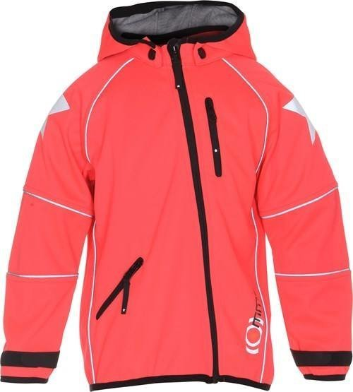 Molo Cloudy Jacket Softshell Takki Coral