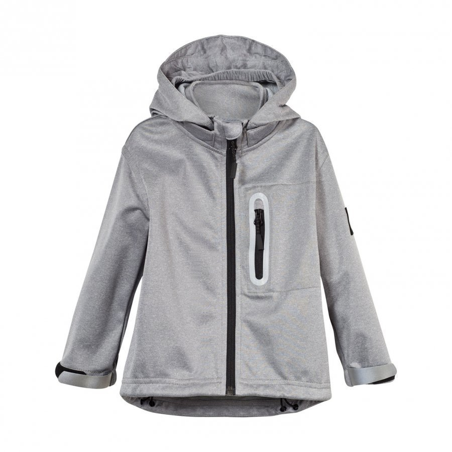Molo Cloudy Soft Shell Jacket Grey Melange Kuoritakki