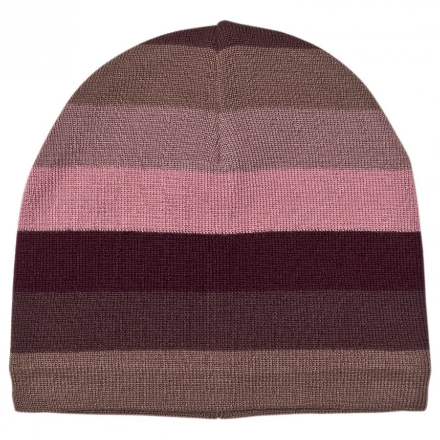 Molo Colder Hat Huckleberry Stripe Pipo