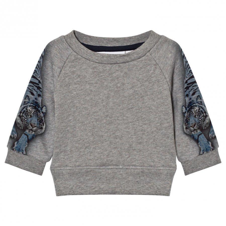 Molo Dayne Sweatshirt Blue Tigers Oloasun Paita
