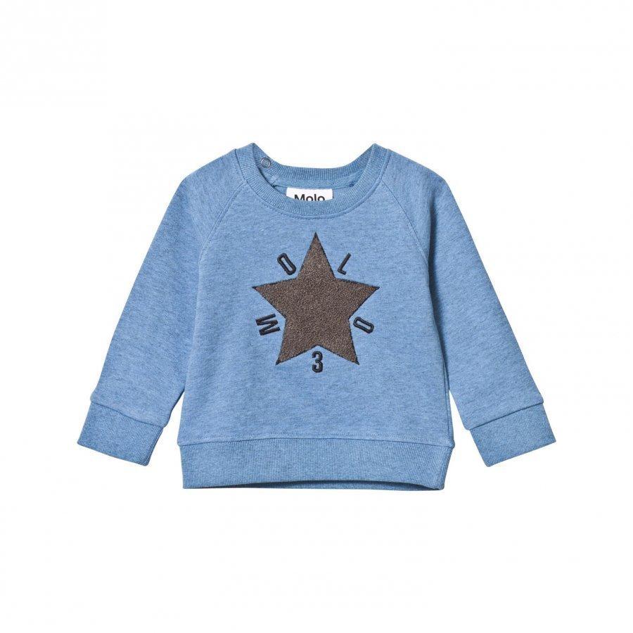 Molo Dines Sweatshirt Flourentic Blue Oloasun Paita