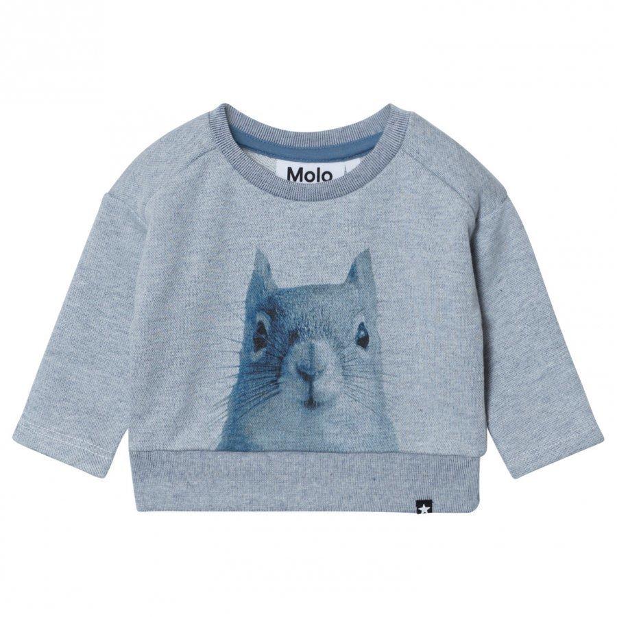 Molo Doc Sweatshirt Stellar Blue Oloasun Paita