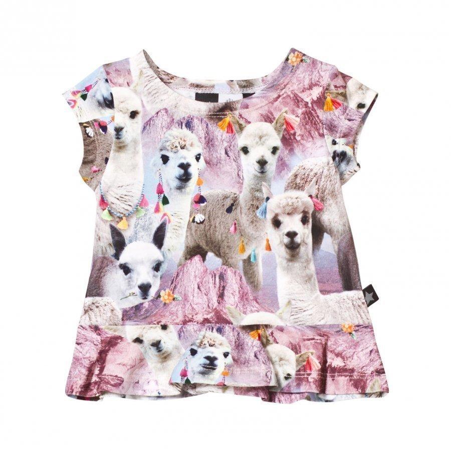 Molo Ebba T-Shirt Lovely Llama T-Paita