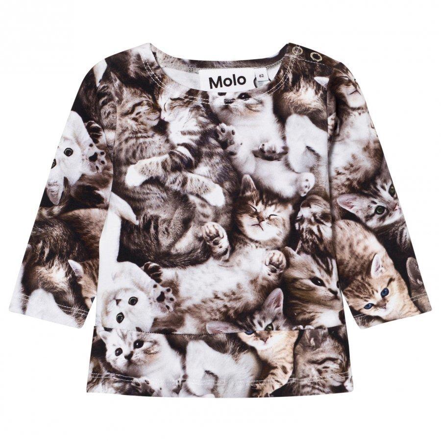 Molo Elisabeth T-Shirt Miauuu Pitkähihainen T-Paita