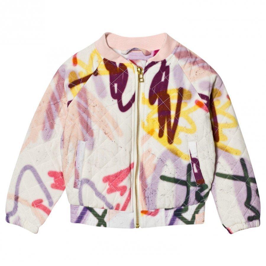 Molo Haliva Quilted Jacket Graffiti Takki