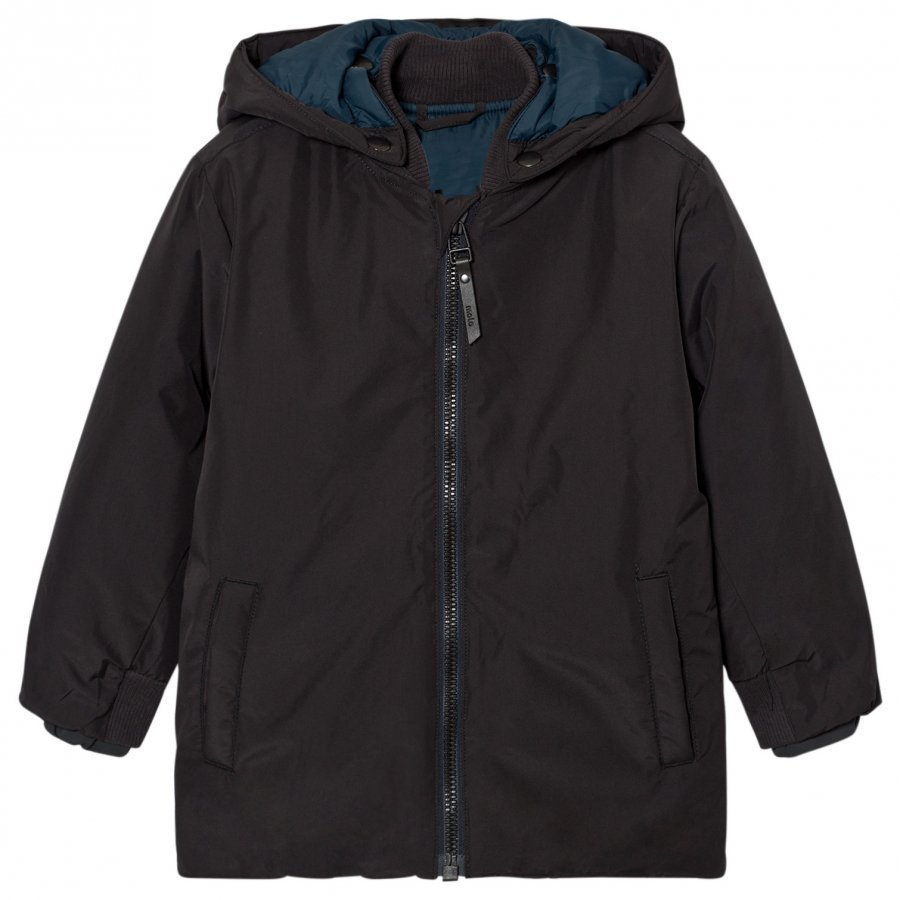 Molo Halloy Jacket Pirate Black Toppatakki