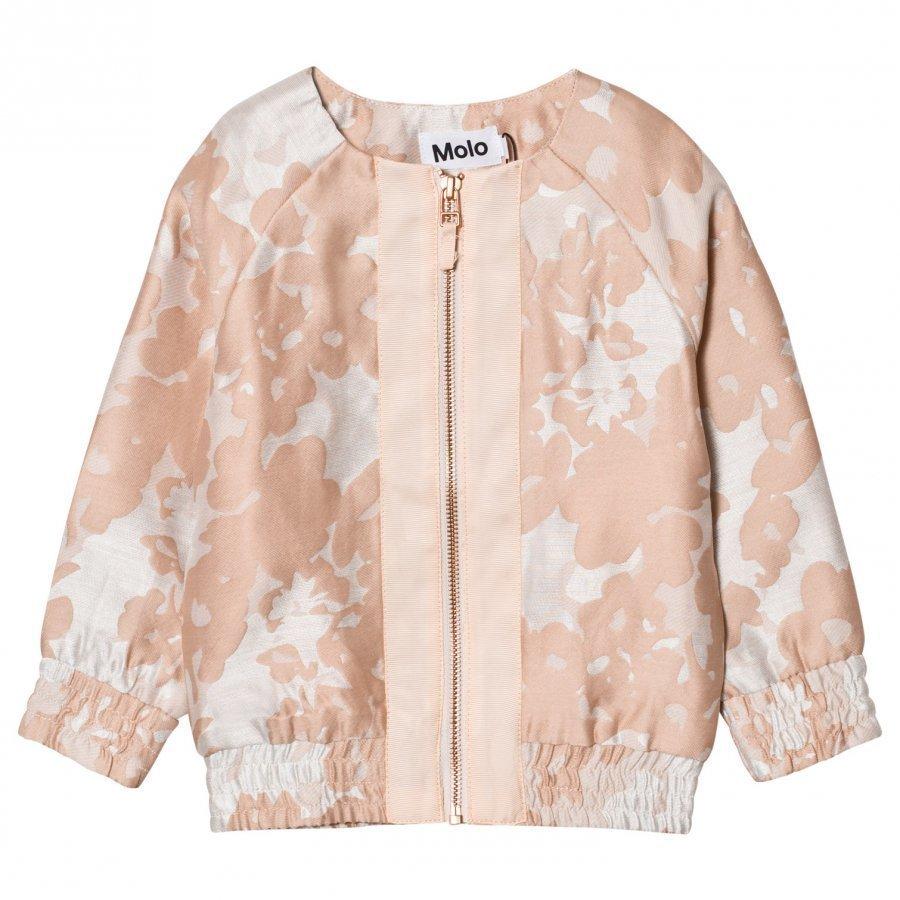 Molo Hana Jacquard Jacket Cameo Rose Takki