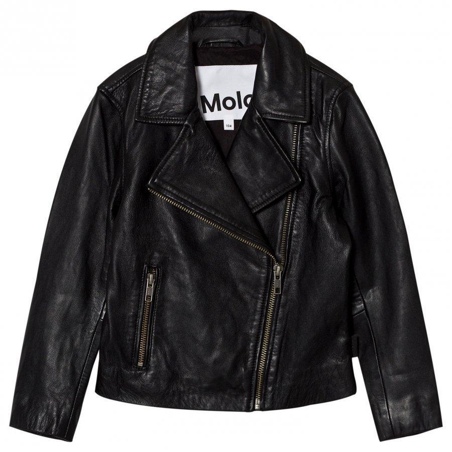 Molo Hazel Jacket Washed Black Takki