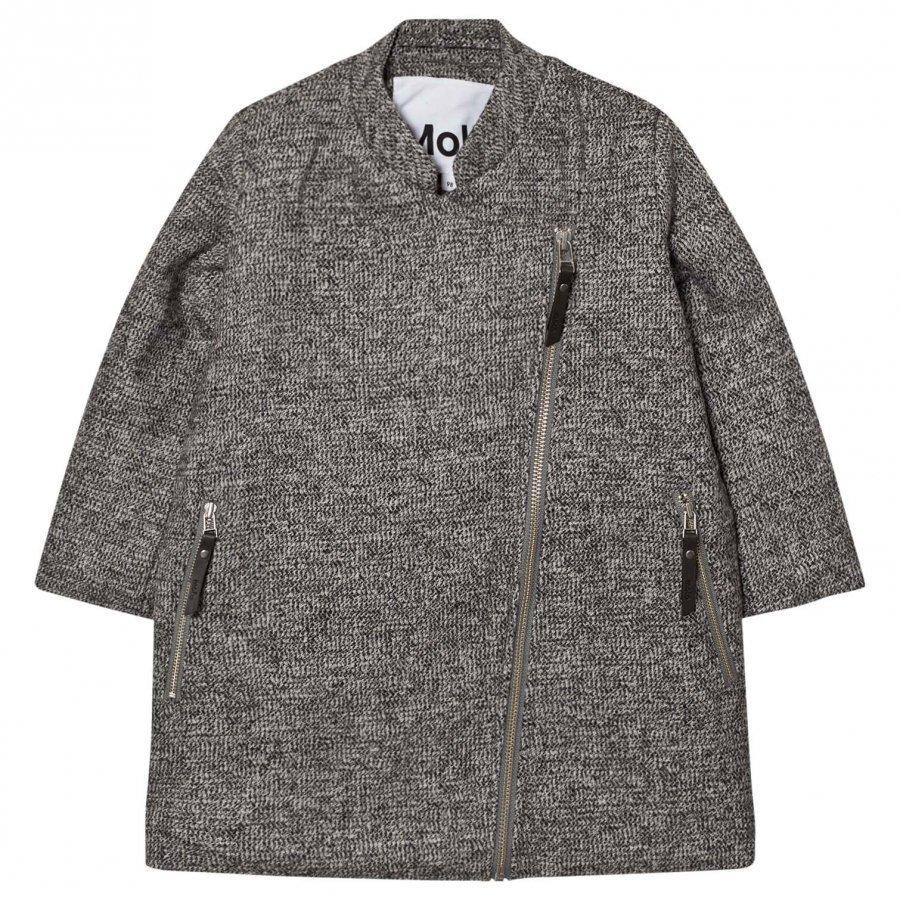Molo Henriette Jacket Grey Melange Bleiseri