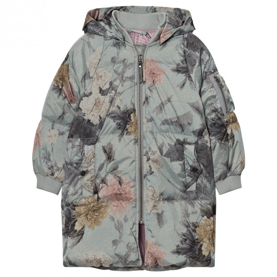 Molo Hermione Jacket Misty Flowers Bomber Takki