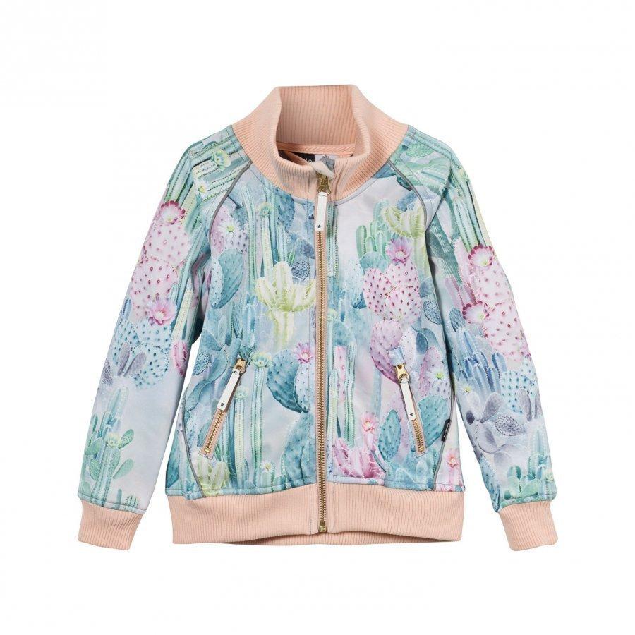 Molo Hestie Soft Shell Jacket Delicate Cacti Kuoritakki