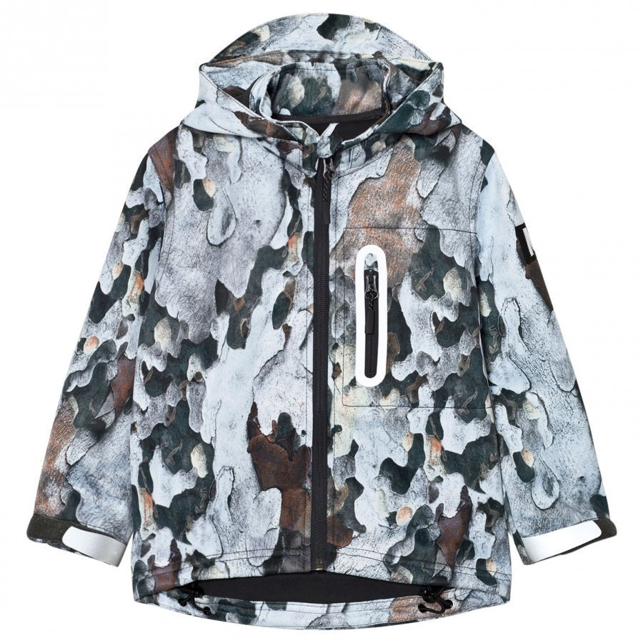 Molo Hogan Soft Shell Jacket Bark Toppatakki