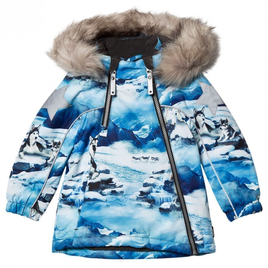 Molo Hopla Faux Fur Jacket Husky Kuoritakki
