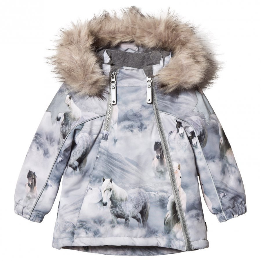 Molo Hopla Faux Fur Jacket Pony Kuoritakki