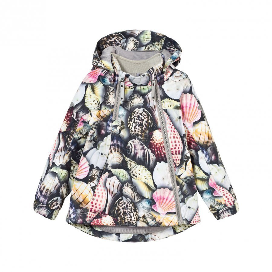 Molo Hopla Rain Jacket Sea Treasure Kuoritakki