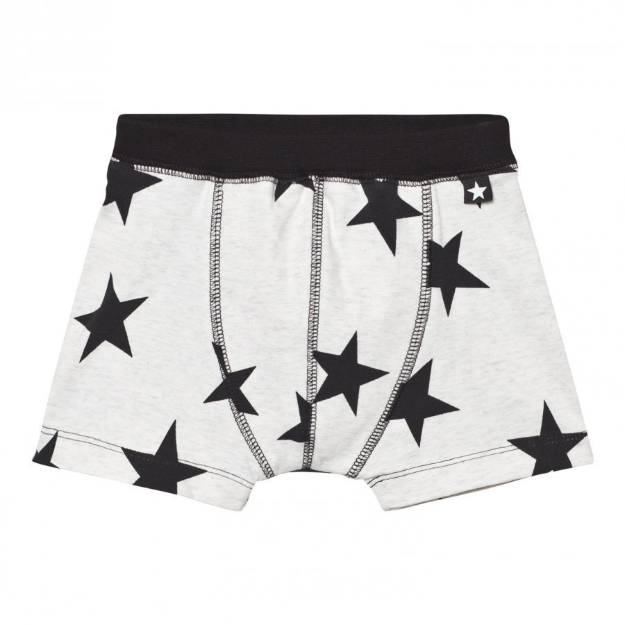 Molo Jon Boxer Briefs Black Star Print Bokserit