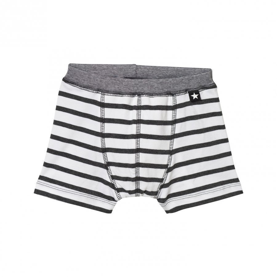 Molo Jon Boxer Briefs Iron Gate Stripe Pikkuhousut