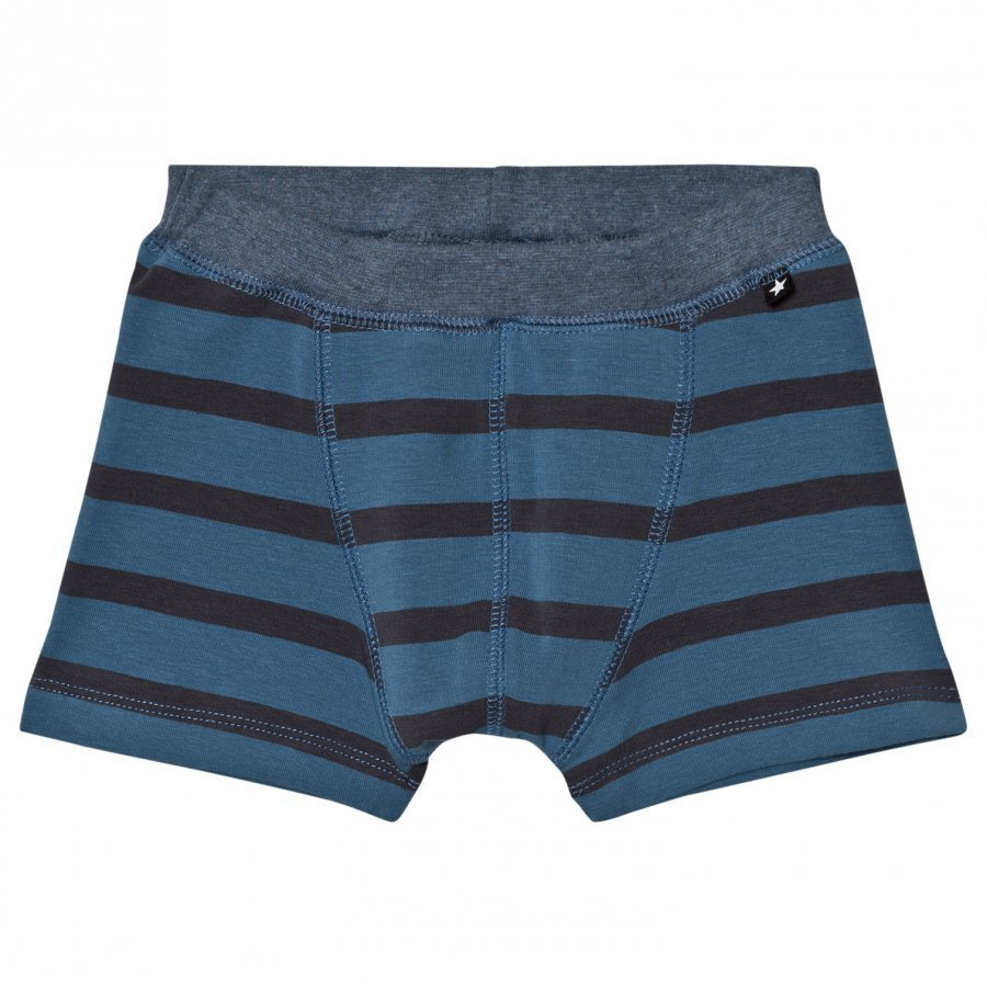 Molo Jon Briefs Stellar Blue Stripe Bokserit