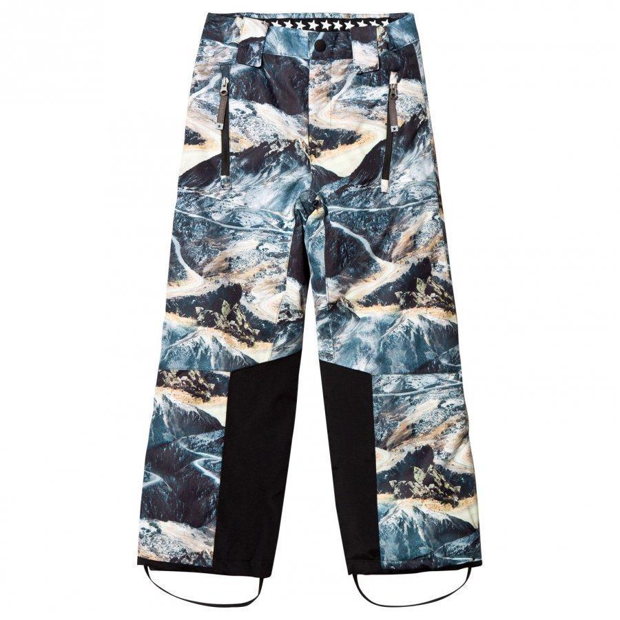 Molo Jump Pro Woven Pants Mountain Range Toppahousut