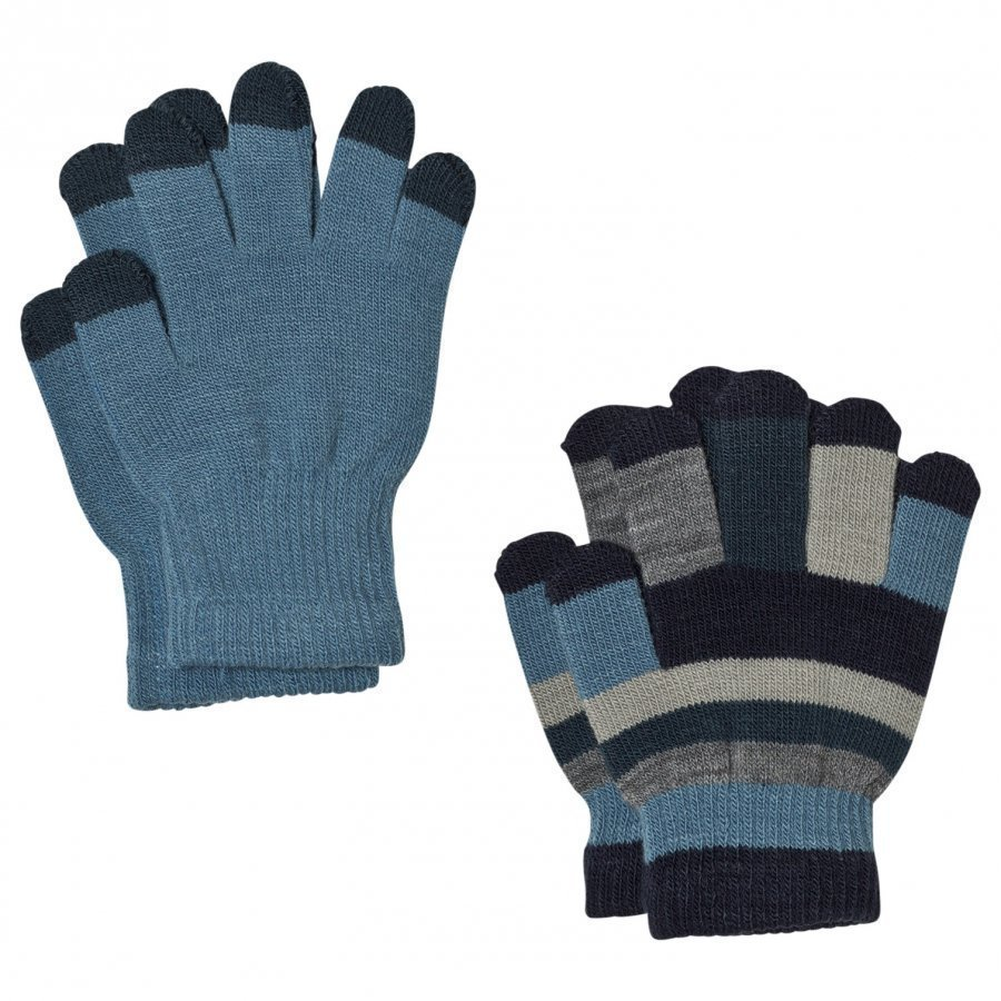 Molo Keio Gloves Set Bluestone Hanskat