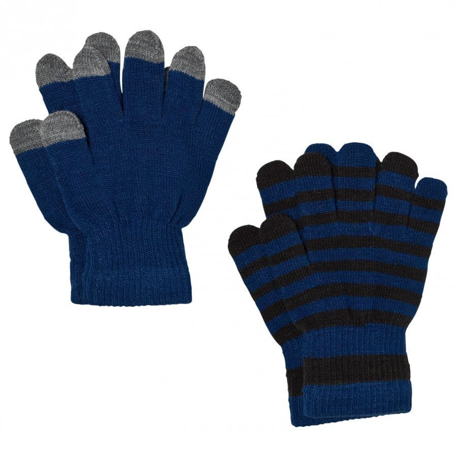 Molo Keio Gloves Set Estate Blue Villahanskat