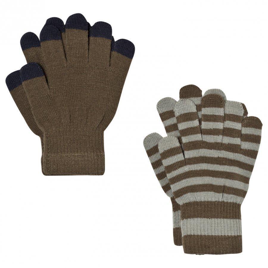 Molo Keio Gloves Set Tarmac Villahanskat