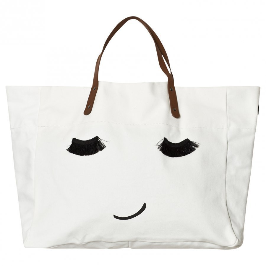 Molo Large Tote Bag Porcelain Clay Kassi