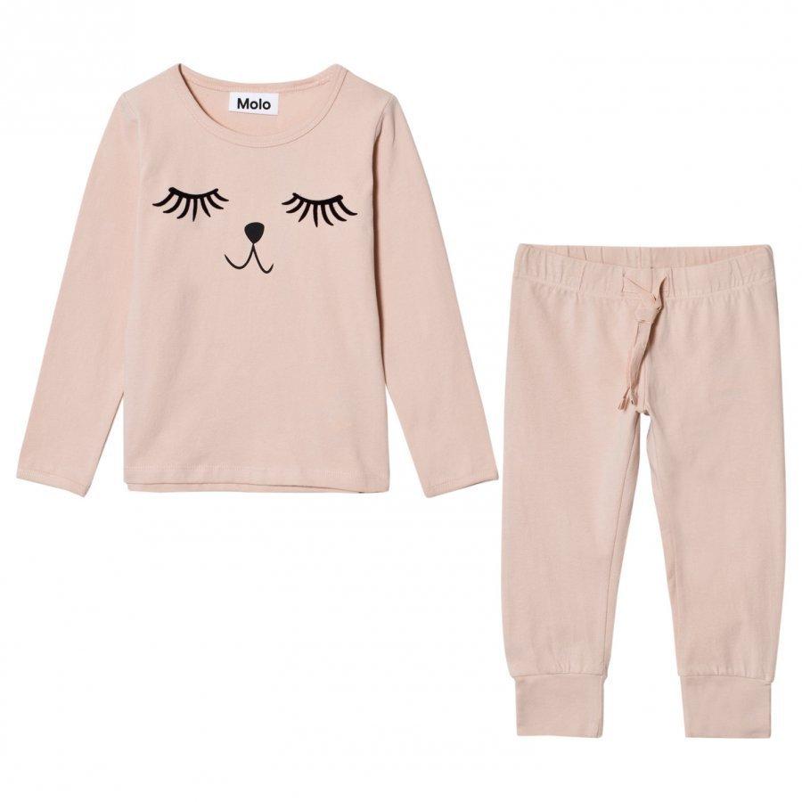 Molo Lov Pyjama Set Cameo Rose Yöpuku