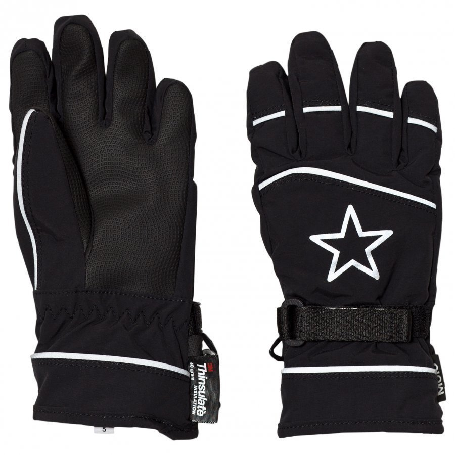 Molo Mack Active Gloves Black Villahanskat