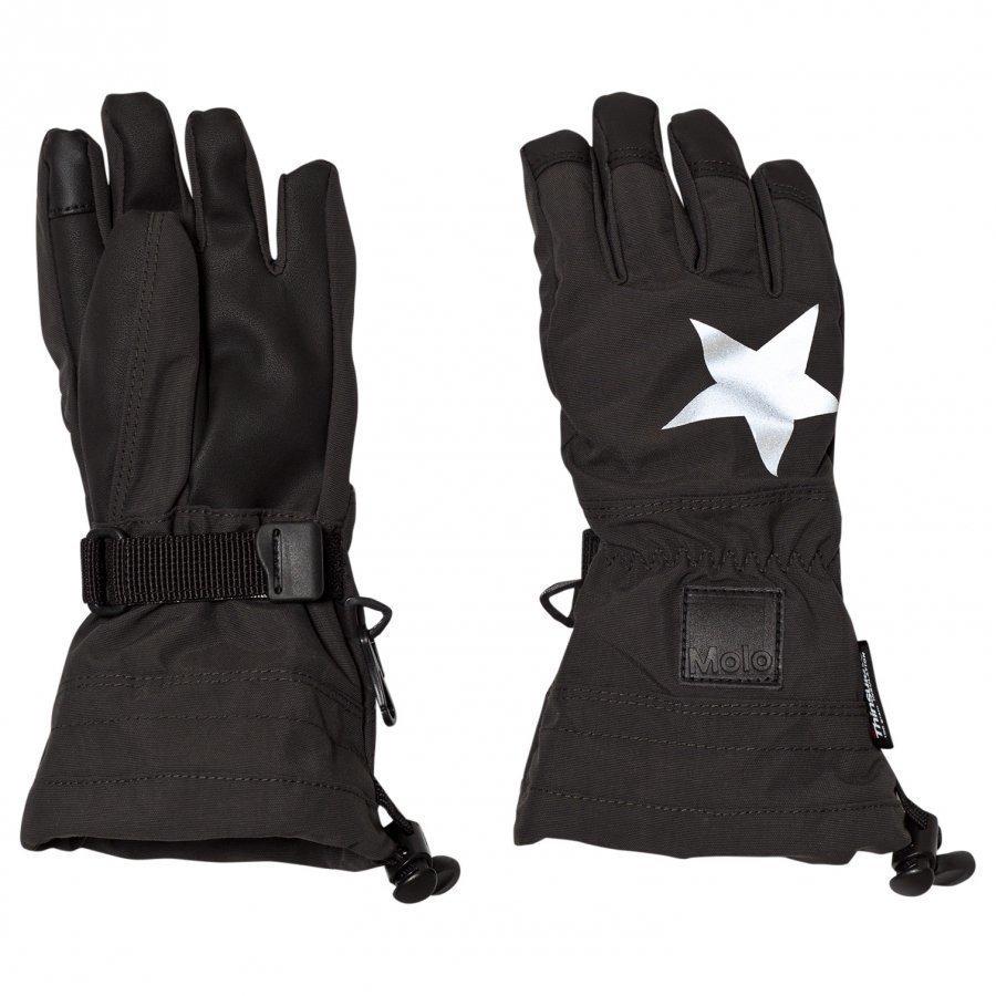 Molo Mackenzie Pro Gloves Black Villahanskat