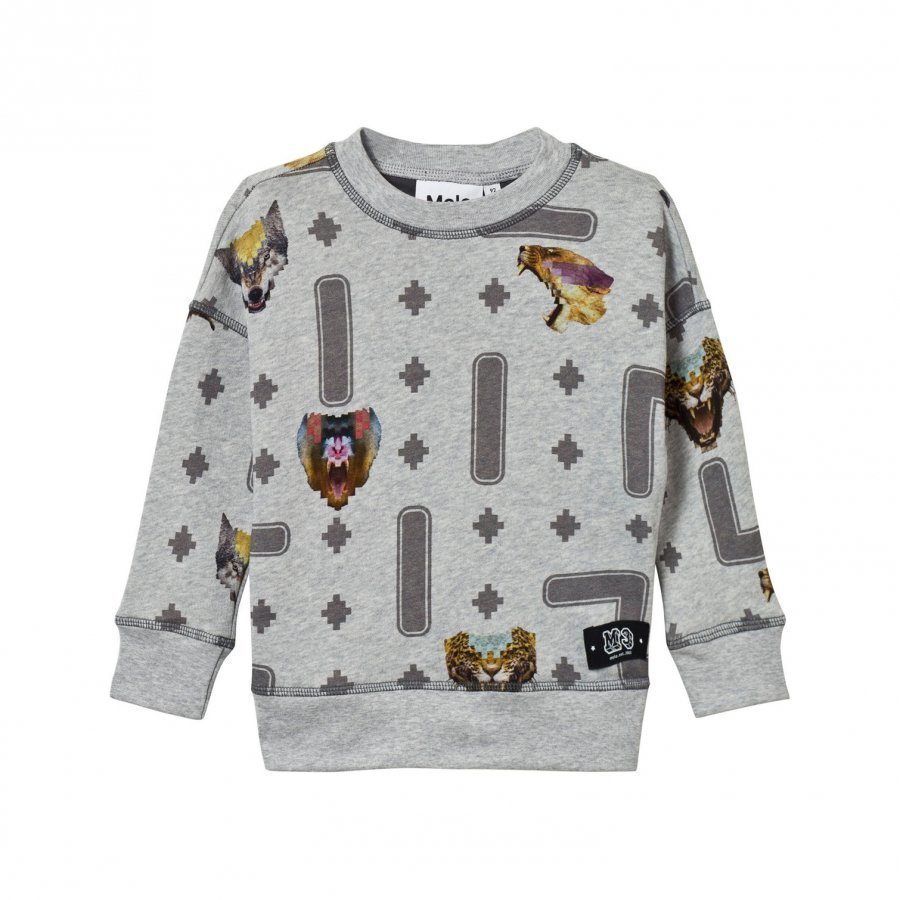 Molo Milton Sweater Animal Game Oloasun Paita