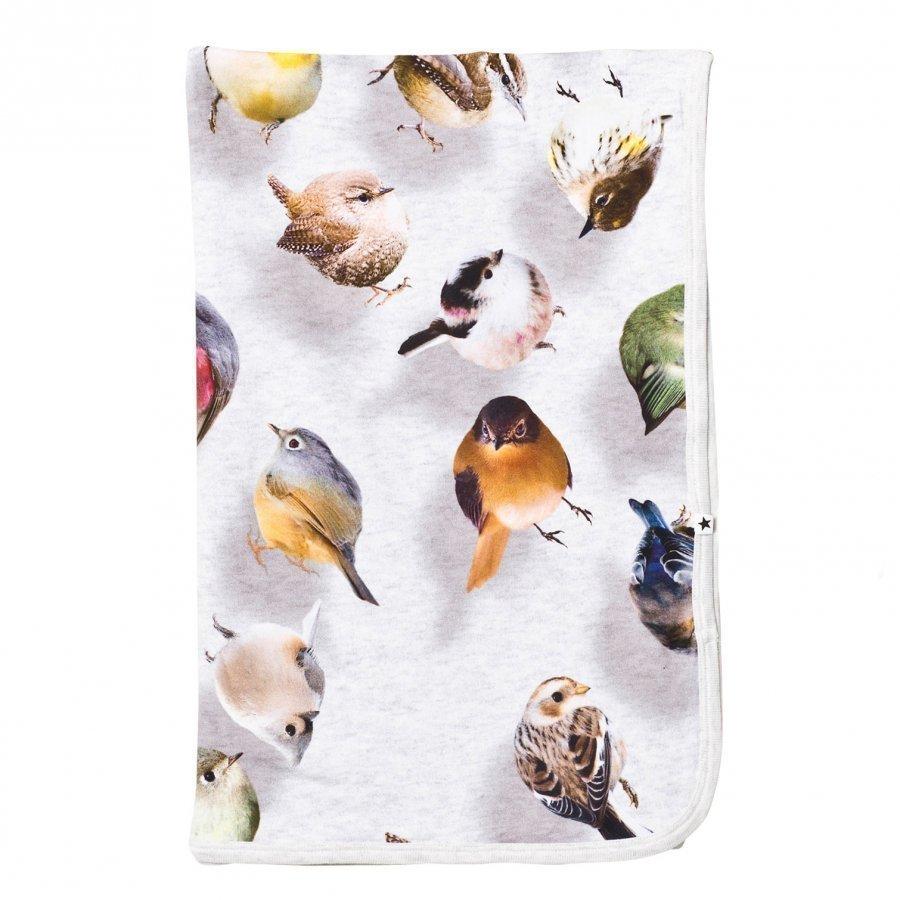 Molo Neala Blanket Bouncing Birds Huopa