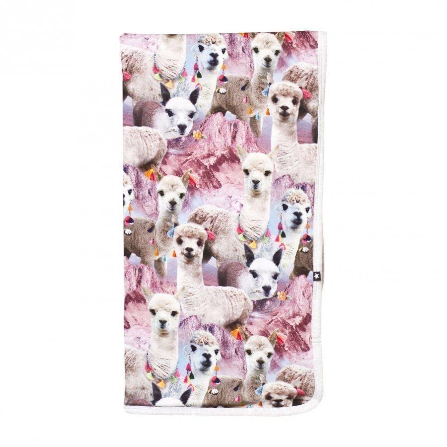 Molo Neala Blanket Lovely Llama Huopa