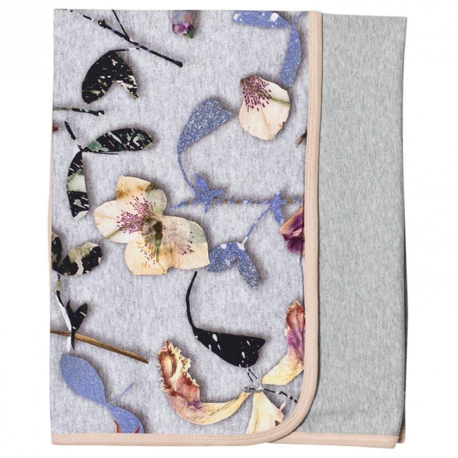 Molo Neala Blanket Paper Petals Melange Huopa