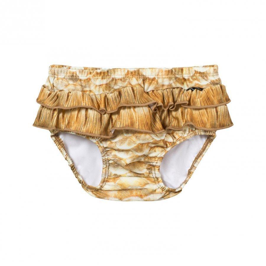 Molo Neena Trunks Gold Fishshell Uimavaippa