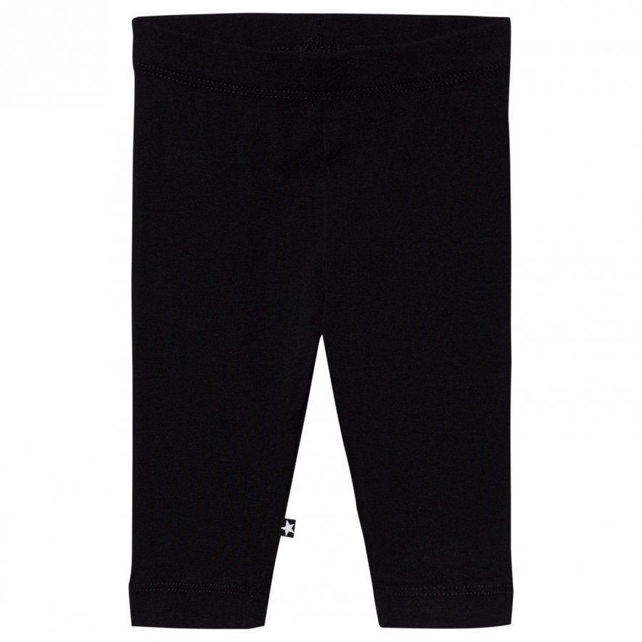 Molo Nette Solid Leggings Black Legginsit