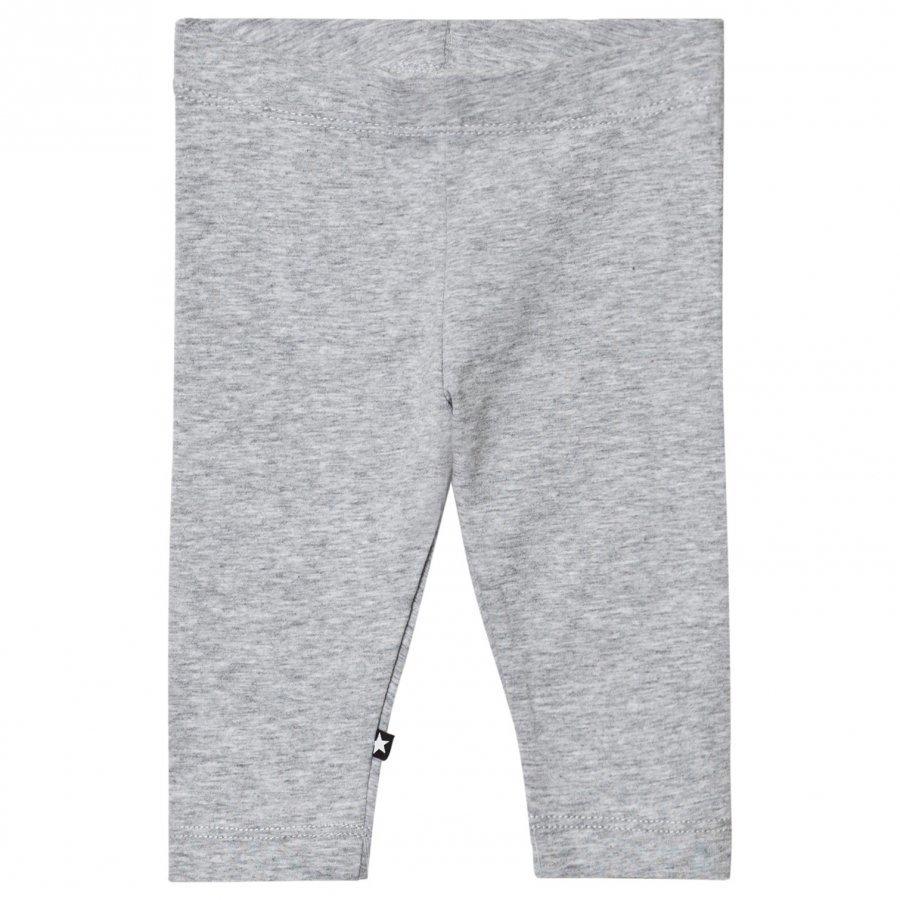 Molo Nette Solid Leggings Grey Melange Legginsit