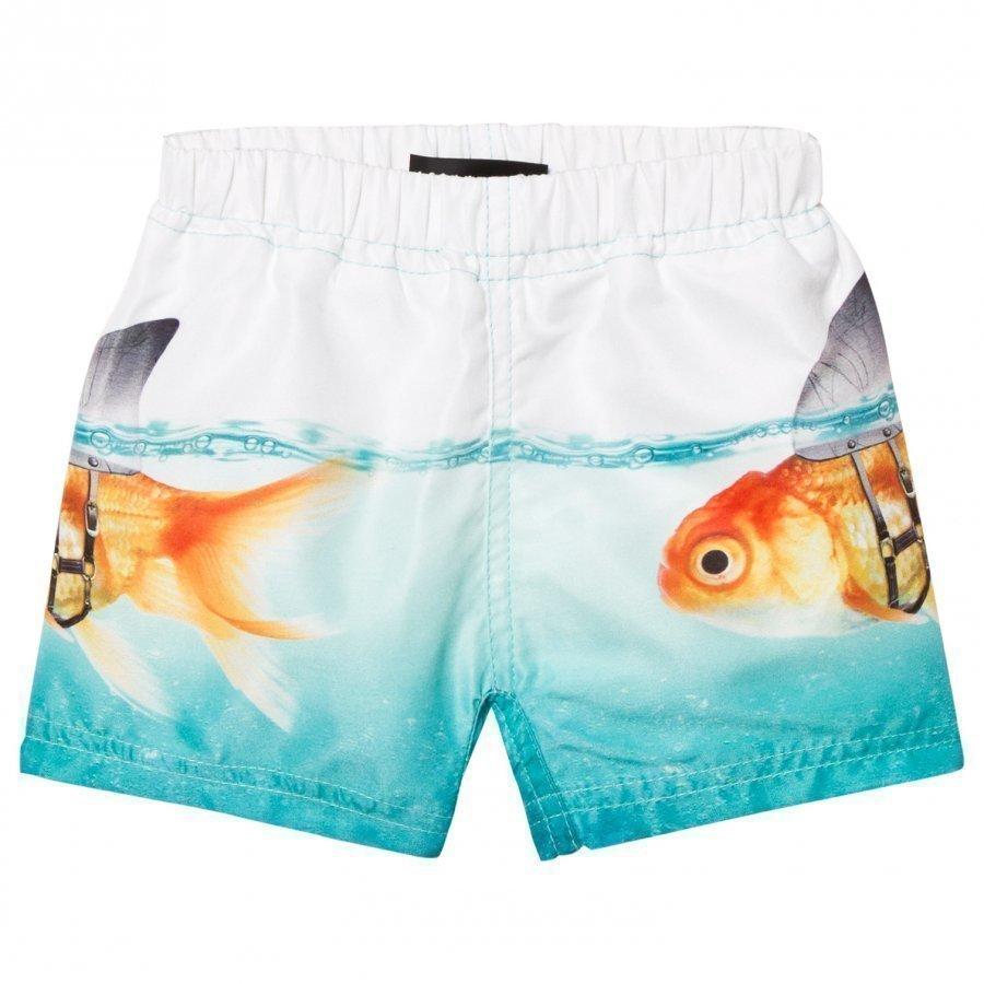 Molo Newton Trunks Scary Fish Uimashortsit