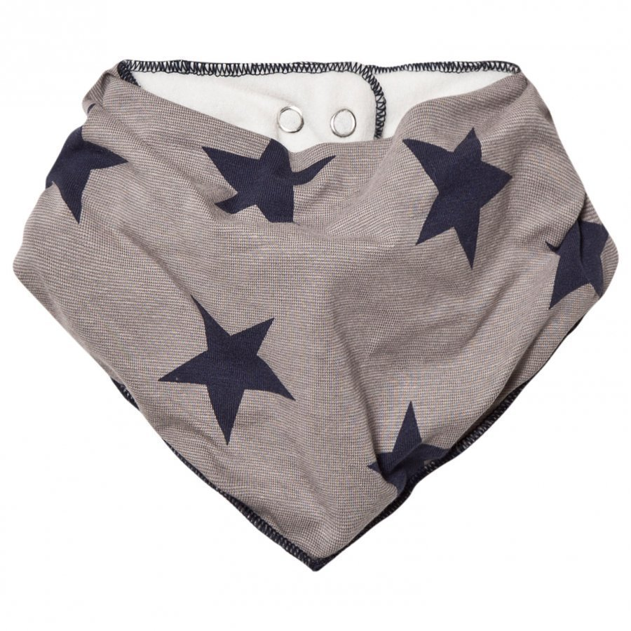 Molo Nick Bib Navy Blazer Star Ruokalappu