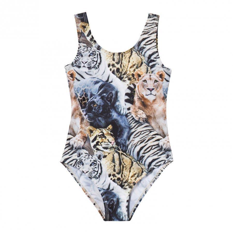 Molo Nika Swimsuit Wild Cats Uimapuku