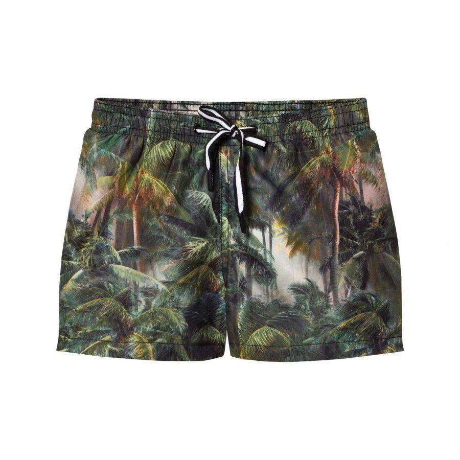 Molo Niko Swimming Shorts Camo Palms Uimashortsit